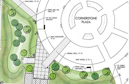 Uaf Engineering Building Landscape
